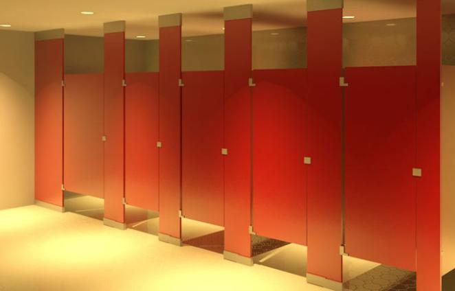 vách ngăn cho nhà vệ sinh compact
